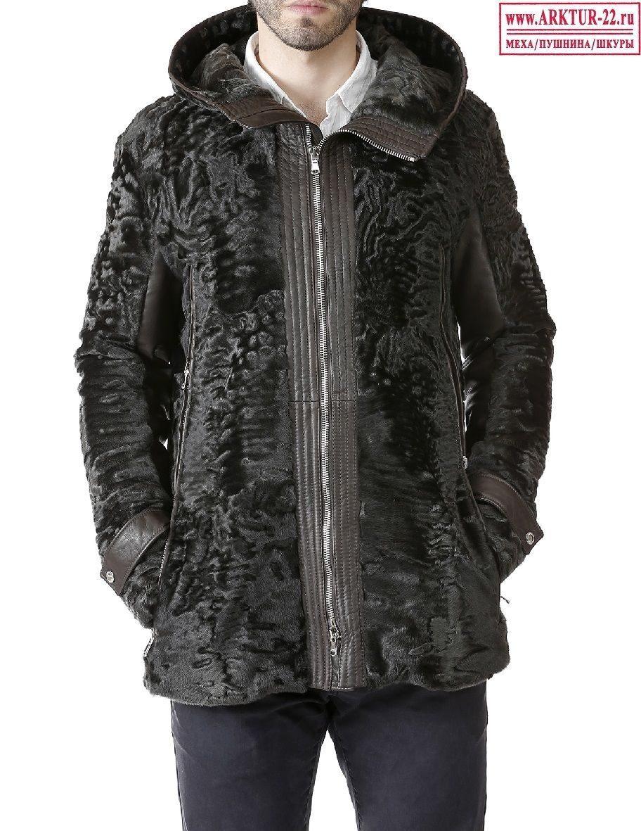 Мужские шубы и куртки из каракуля и каракульчи - низкие цены в Арктур-22 f919ba4a1725a